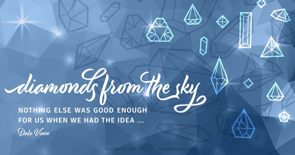 Diamonds-from-the-sky-great-idea-software-for-future-blog-lionizers